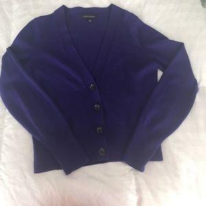 Banana Republic purple cardigan Medium